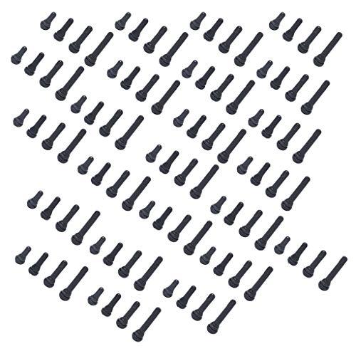 non-brand Sharplace 96 Pcs Assortiment De Soupapes De Pneu TR412x24 TR413x24 TR414x24 TR418x24