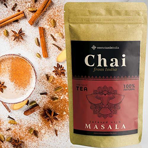 Té Chai Latte en Polvo instantáneo GIRNAR 300g - Te Masala Chai - Chai Tea Latte - Chai Te - Chai Latte Powder - Te Negro Chai - Chai Masala - Te Chai - Chai Latte (Masala)