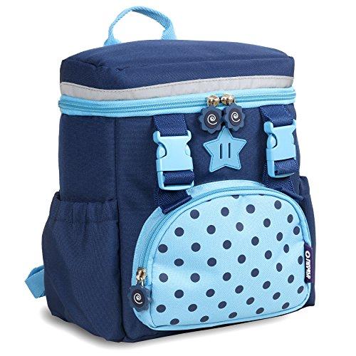 J World New York Kids' Kinder Backpack, Navy, One Size