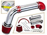 Rtunes Racing Cold Air Intake Kit + Filter Combo RED Compatible For 09-15 Dodge Ram 1500/2500/3500 Hemi 5.7L V8