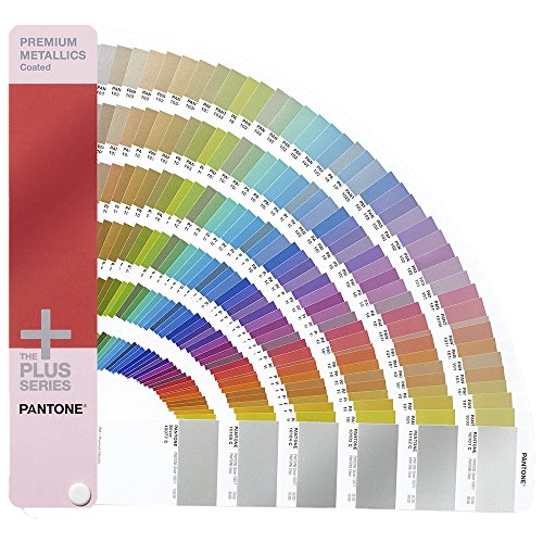 PANTONE PLUS GG1505 Premium Metallics Guide Coated [Ein Farbfächer inbegriffen]