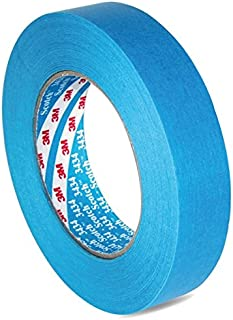 3M™ Scotch® 3434 07985 Water Resistant Blue Masking Tape 18mm by 50m - 2 Rolls