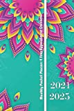 2021-2025 Five Year Planner-Chevron: 60 Months Calendar, 5 Year Monthly Appointment Notebook, Agenda Schedule Organizer Nootebook and Business Planners with Federal Holidays