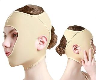 Afslanken gezichtsverband, liposuctie kap, dubbele kin gezichtshefriem, stretchmasker Wang Slank schoonheidstool voor vrouwen