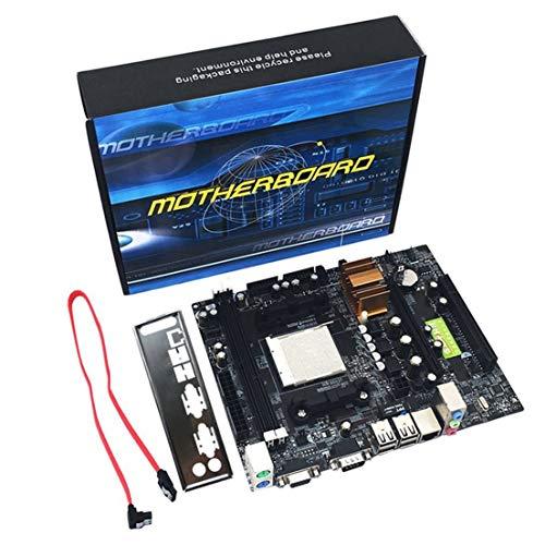 SKYYKS N68 C61 Desktop-Computer Motherboard Support Am2 Für Bm3 CPU Ddr2 + DDR3-Speicher-Mainboard mit 4 Ports Sata2