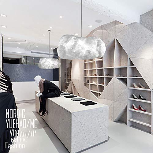 SUNA Plafond Plafonnier Nuages blancs Flottants, Créatif LED Moderne Minimaliste Salle à Manger Chambre Lampe Chambre Pour Enfants éclairage Art Lustre