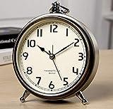 LTLJX LED Despertador Fecha electrónico Dormitorio Temporizador Estudiante de Escritorio de vibración Dispositivos portátiles visualización de Alarma Oficina Reloj Digital Luminoso LUDEQUAN