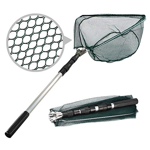 Fishing Net Extendable Landing Net for Catching Dragonfly Fish Butterfly Insects