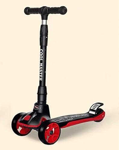 Der Rollerjungenmädchen-Vierradantrieb Der Kinder Des Rollers Vier Der Kinder Ein Fu für-yo Auto