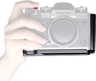 CamRebel Lプレート QRクイックシューマウント カメラLブラケットハンドグリップ Fujifilm X-T3に対応 アルミ合金製 (Lプレート XT3用)