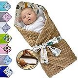 Saco de dormir para bebé acolchado y reversible, desde el nacimiento, nido de...