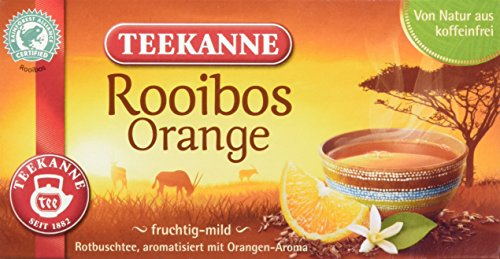 Teekanne Rooibos Orange, 6er Pack (6 x 35 g)
