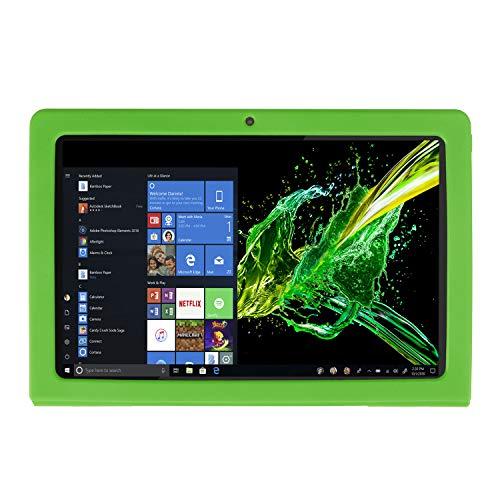 ONN Windows Tablet 10.1 inch Case Cover, Anti Slip Flexible Rubber Protective Skin Soft Bumper for ONN 10.1 inch Tablet, Lightweight/Ultra Slim/Kids Friendly/Drop Proof/Shockproof (Green)