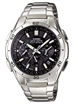 Casio Herren-Armbanduhr XL Funkuhren Analog Edelstahl WVQ-M410D-1AER