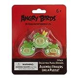 Angry Birds Pig Puzzle Borradores (Pack de 3, Verde)