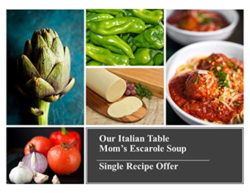 OUR ITALIAN TABLE SINGLE RECIPE OFFER: MOM