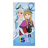 Disney Frozen 2200002178 Tessile E Accessori, Poliestere, Azzurro, Unica