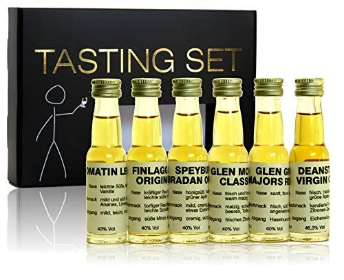 scotchbar Whisky Einsteiger Tasting Set Whisky aus Schottland Scotch Single Malt in edler Geschenkverpackung