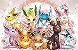 Anime lindo dibujo de Pokemon pintura acrílica a mano por números pintura al óleo pintada a mano cuadro de arte de pared decoración del hogar regalo - 40x50cm sin marco