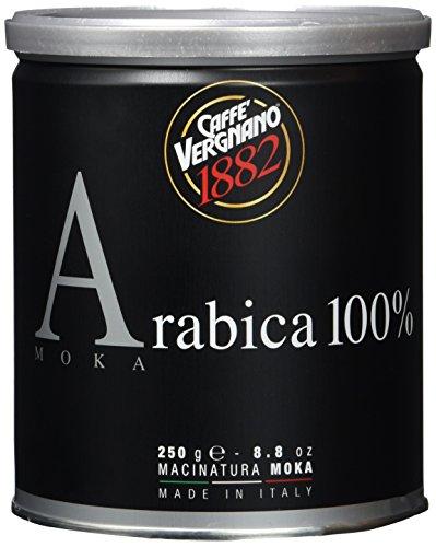Caffè Vergnano 1882 Kaffee Dose 100% Arabica gemahlen Mokka - 2 Packungen mit 250 g