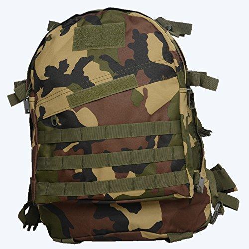 WuJiPeng Sac à Dos De Camping De Randonnée En Plein Air Sac à Dos Tactique D'escalade De Grande Capacité 36-55L Sac à Dos Imperméable Et De Camouflage,G
