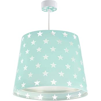 Dalber lampe suspension enfant Stars étoiles Vert: