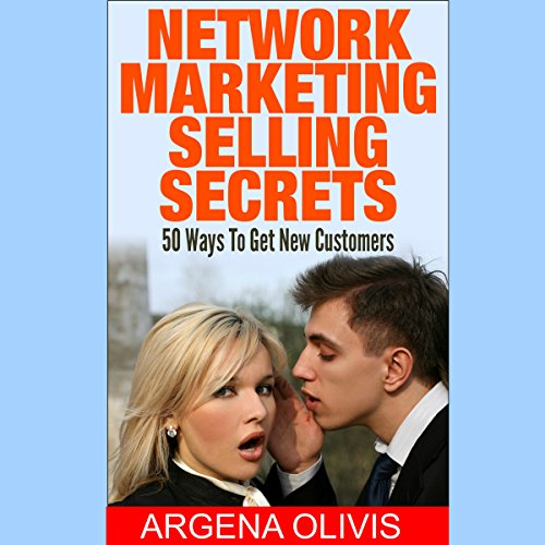 Network Marketing Selling Secrets audiobook cover art