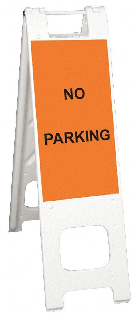 In shipfree a popularity Unratedcompatiblesignage White A-Frame 2040024443 45Inx3Inx13In