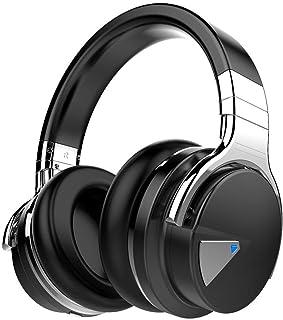 COWIN E7 Noise Cancelling (NC) Auriculares Inalámbricos Bluetooth con Micrófono Hi-Fi y Cancelación Activa de Ruido, Almoh...