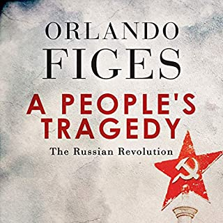 A People's Tragedy audiobook cover art