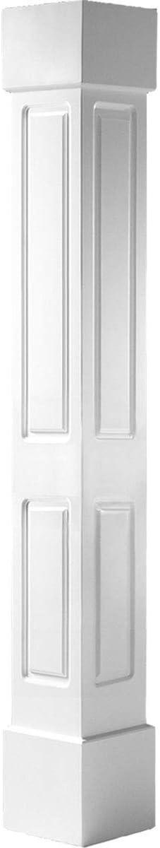 Ekena Daily bargain sale Millwork CC1209ENDCSCS White Column Soldering