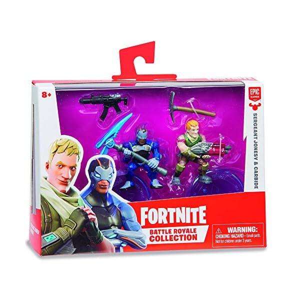 Fortnite Blister Duo - 2 Figuras 7 cm y 1 accesorio escondido (Giochi Preziosi FRT13000) , color/modelo surtido 6