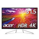 Acer 4K モニター ディスプレイ OmegaLine 31.5インチ ET322QKwmiipx VA HDMIx2 DisplayPort HDR FreeSync スピーカー内蔵 ブルーライト軽減
