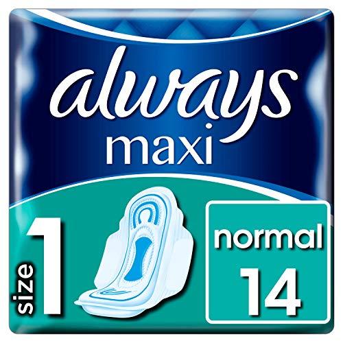 Always Maxi Normal Binden Mit Flügeln (Größe1) 14Stück