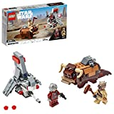 LEGO Star Wars - Microfighters: Saltacielos T-16 vs. Bantha, Juguete de La...