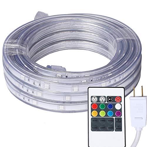 16.4 Feet Flat Flexible LED Rope Lights, Color...