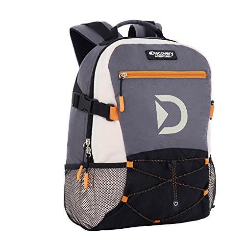 Discovery Multisport Backpack - Laptop Bag School Rucksack - Casual Daypack for Men or Women - 29 x 20 x 40cm