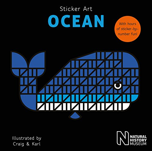 Natural History Museum: Sticker Art Ocean