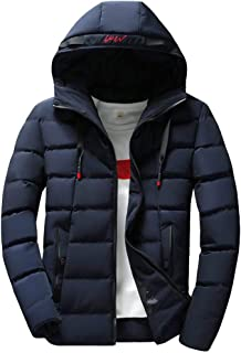 Luca-Coat LUCAMORE Mens Casual Big and Tall Sizes Lightweight Hoodie Windbreaker Multi-Pockets Breathable Autumn Jacket