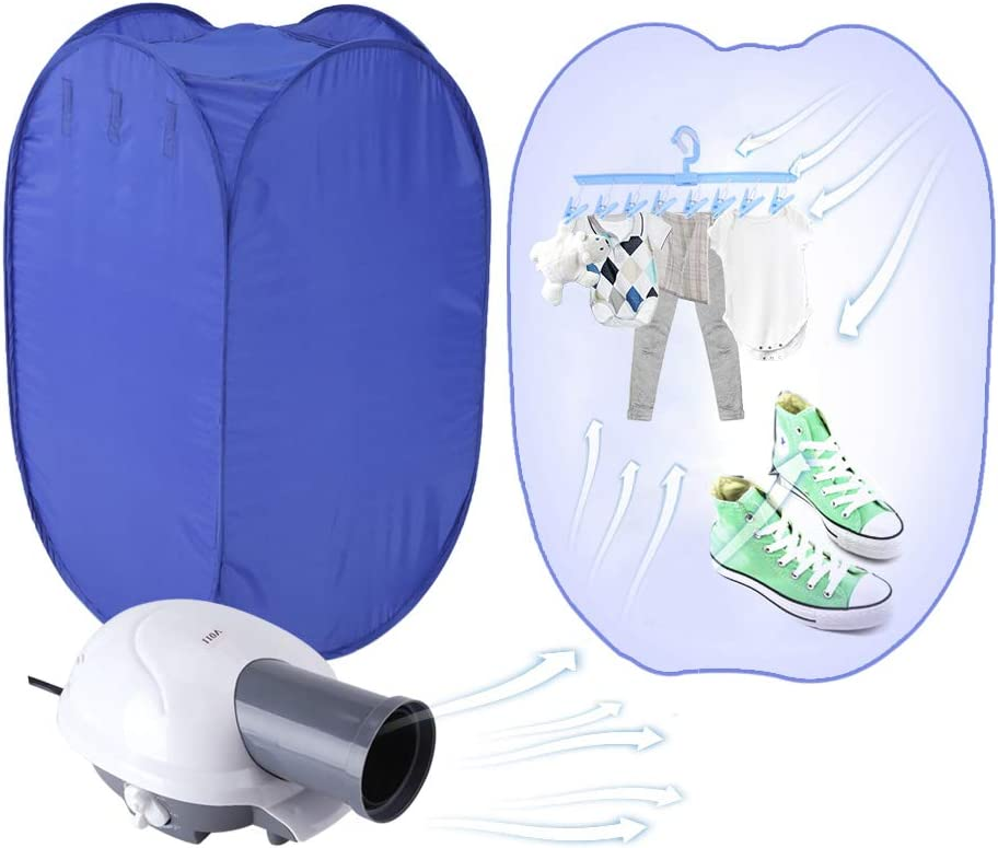 Ejoyous Portable Clothes Easy-to-use Dryer for Apartments Dry Electric Genuine Free Shipping Mini