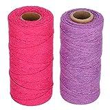 Accesorios de costura suficiente, 250 metros de algodón de algodón de hilado de diámetro de alambre