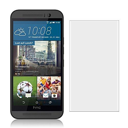 NAUC Posten Glas Schutz Folie Panzerglas Bildschirmschutz Handy 2X Schutzglas Tempered, Handy Modelle für:HTC Desire 820