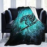 Anime Fairy Tail Logo-Zeichen, ultraweiche Micro-Fleece-Decke, Überwurf, Decke, Mikrofaser-Fleece-Tagesdecke, geeignet für Bett & Couch, alle Jahreszeiten, 203 x 152 cm