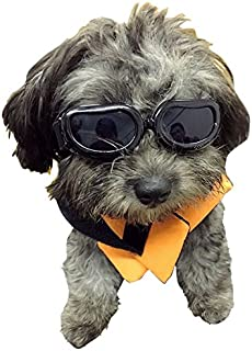 Enjoying Dog Goggles – Small Dog Sunglasses Waterproof Windproof UV Protection for..