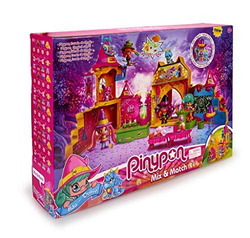 Pinypon Escuela de Brujitas - Set de juguete y accesorios con 1 figura para niños y niñas de 4 a 8 años (Famosa 700015074)