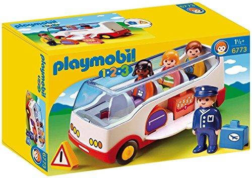 PLAYMOBIL 1.2.3 Autobús, a Partir de 1.5 Años (6773)