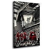 Liverpool FC Leinwand-Kunst-Poster und Wand-Kunstdruck,