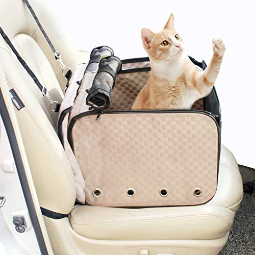 Autositz für Hunde,Auto Hundesitz,hunde autositz,Sitzerhöhung für Hunde,Hunde Autositz,Hundesitz wasserdicht,kleine bis mittlere Hunde,Hundedecke,Einzelsitz für die Rückbank +inkl Sicherheitsgurt