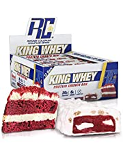 RCSS King Whey Protein Bar Eiwitreep Eiwitreep Eiwit Protein 20g Protein per reep 12x57g (Red Velvet Cake)..