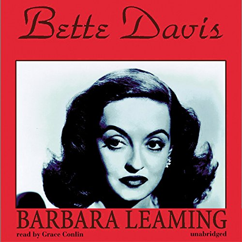 Bette Davis audiobook cover art